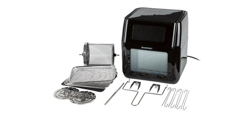 freidora de aire caliente 9 en 1 silvercrest en lidl 1024x473 - Freidora de aire caliente 9 en 1 en Lidl