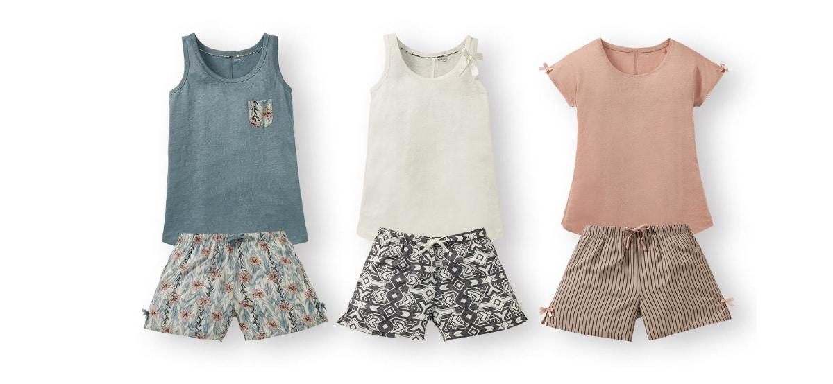 pijama de verano para mujer en lidl