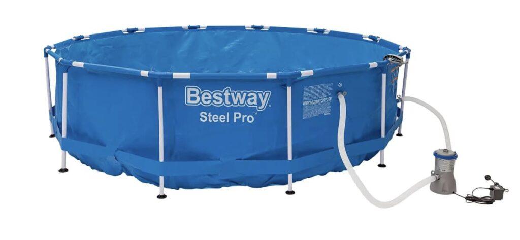bestway piscina con estructura de metal en Lidl 1024x473 - Piscina Bestway con estructura de metal