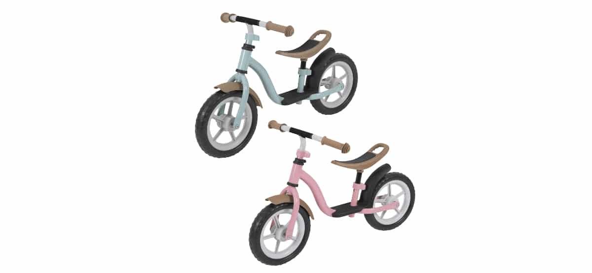 bicicleta sin pedales de aldi para ninos