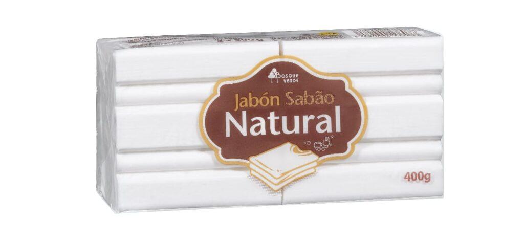 jabon natural con glicerina bosque verde mercadona