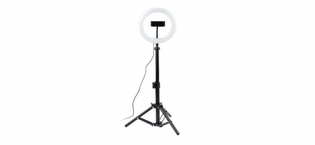 luz led anillo luz 1024x473 - Anillo de luz led selfie en Lidl