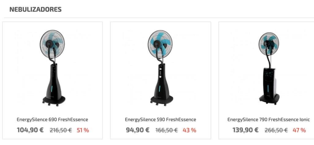 ofertas nebulizadores 1024x473 - Ventiladores nebulizadores Cecotec