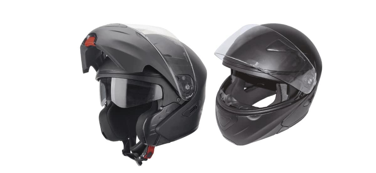 casco flip up modular para motorista aldi
