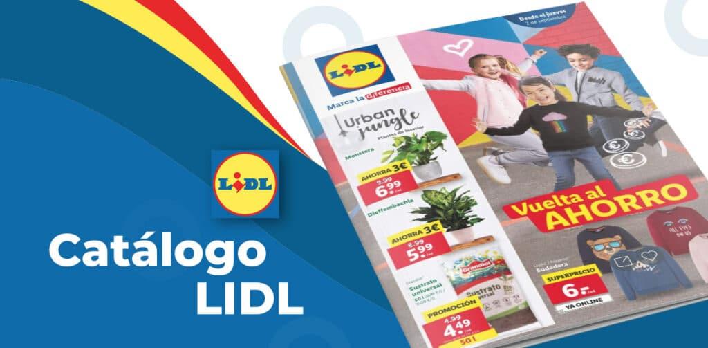 catalogo lidl bazar septiembre 1024x503 - Catálogo Lidl de productos del 2 al 8 de septiembre