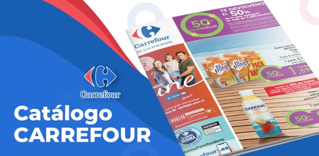 descuentos carrefour agosto 1024x503 - Catálogo Carrefour 50% del 12 al 25 agosto
