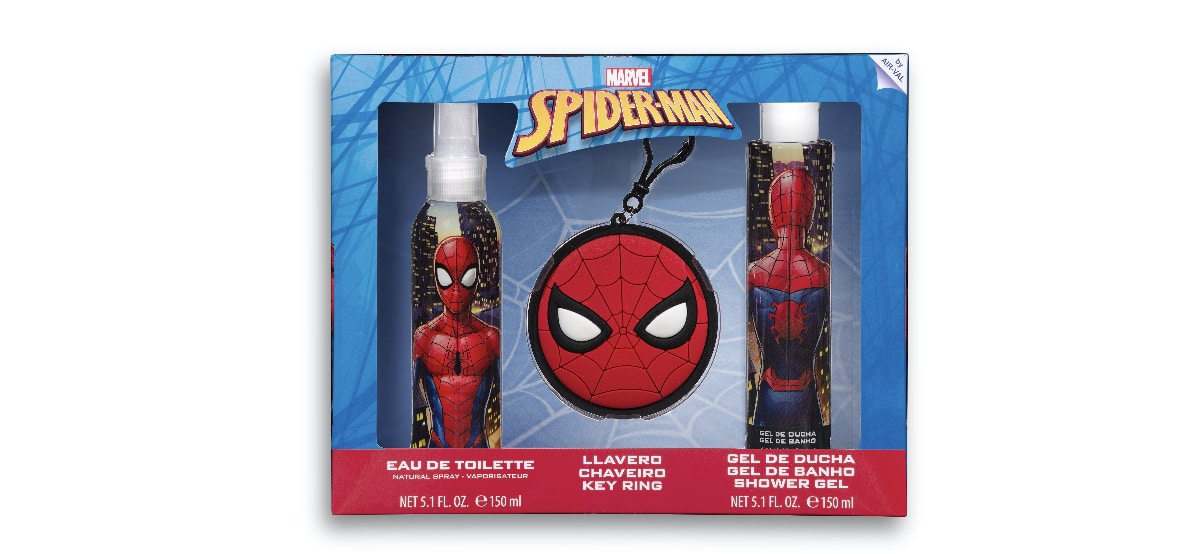 lote infantil para bano spiderman en mercadona - Lote infantil de Spiderman en Mercadona