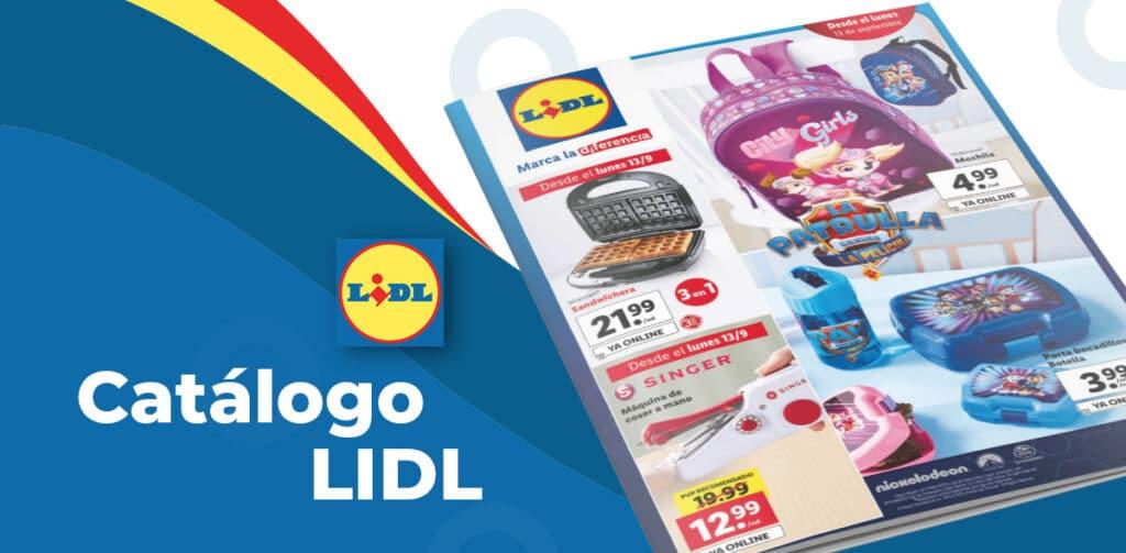 folleto lidl 9 septiembre 1024x503 - Catálogo artículos LIDL del 9 al 15 septiembre